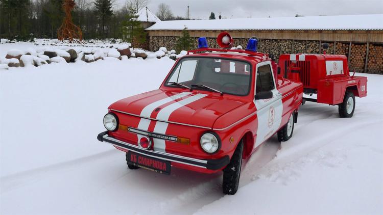 пожарный запорожец