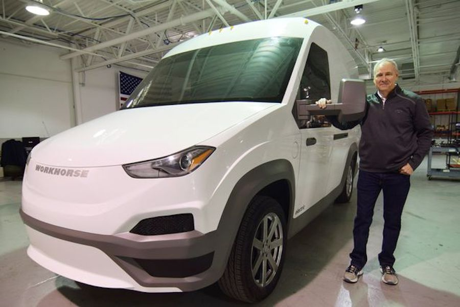 Steve Burns left Workhorse in 2019 and not long after founded Lordstown Motors